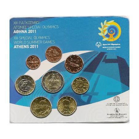 Bu set Griekenland 2011 met de normale 2 euro