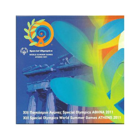 Bu set Griekenland 2011 met de 10 euro Olympics Hope