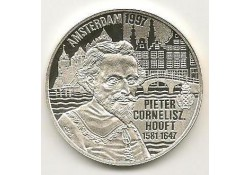 Penning 1997, 50 Euro Pieter Cornelisz Hooft, Zilver Proof-like