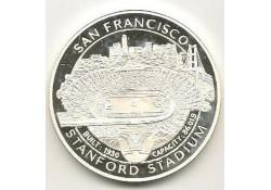 Penning San Francisco Stanford Stadion Zilver