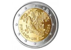 2 Euro Finland 2005 50 jaar lid VN Unc