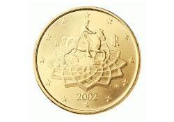 50 Cent Italië 2010 UNC