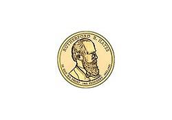 KM ??? U.S.A. 19th President Dollar 2011 D Hayes