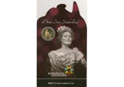 Km ??? Australië 1 Dollar  2011 Unc Joan Sutherland