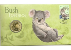 Km ??? Australië 1 Dollar  2011 Unc Bush babies Koala