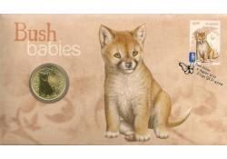 Km ??? Australië 1 Dollar  2011 Unc Bush babies Dingo