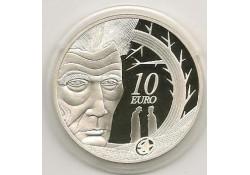 Ierland 2006 10 Euro Zillver Samuael Becket Proof