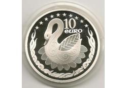 Ierland 2004 10 Euro Zilver Eu Proof