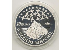 Ierland 2008 10 Euro Skellig Michael Proof