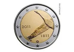 2 Euro Finland 2011 200 jaar bank van Finland Unc