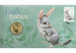 Km ??? Australië 1 Dollar  2011 Unc Bush babies Bilby