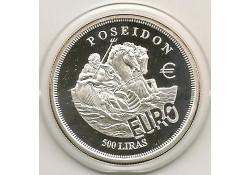 Km ??? Malta 500 Lira 2001 Proof