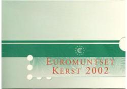Nederland 2002 Kerstset deel 1 met zilveren penning