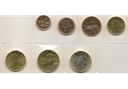 Serie Griekenland 2011 UNC zonder de 2 euromunt