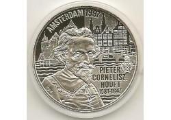 Penning 1997, 20 Euro Pieter Cornelisz Hooft, Zilver Proof-like
