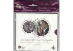 Km ??? Groot Brittanië 5 Pound 2011 Royal wedding Bu in Blister