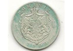 Km 24 Roemenië 1 Leu 1900 Zf-