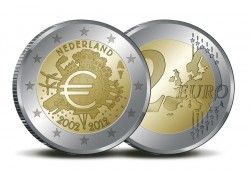Nederland 2012 2 Euro 10 jaar Euro