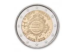 2 Euro Finland 2012 10 Jaar Euro Unc