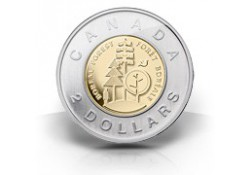 Km+??? Canada 2 Dollar 2011 Unc Wildlife