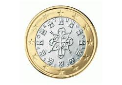 1 Euro Portugal 2010 UNC