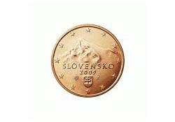 1 Cent Slowakije 2010 UNC