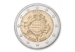 2 Euro Estland 2012 10 Jaar Euro Unc