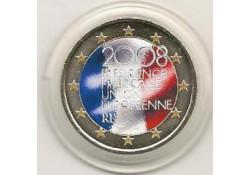 2 Euro Frankrijk 2008 Eu Voorzitter Gekleurd 55/1