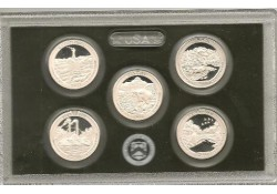KM ??? U.S.A ¼ Dollar 2011 S Zilver Proof (5 stuks)