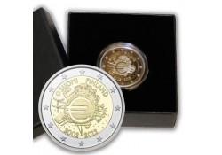 2 Euro Finland 2012 10 jaar euro Proof in orig dsje & cert.