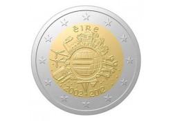 2 Euro Ierland 2012 10 Jaar Euro Unc