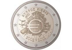 2 Euro Cyprus 2012 10 jaar Euro Unc
