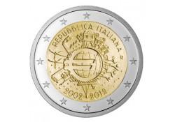 2 euro Italië 2012 10 jaar euro Unc