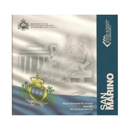 Bu set San Marino 2012 Met 8 Munten