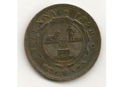 Km 2 Zuid Afrika 1 Penny 1898 Pr-