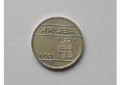 25 cent Aruba 1990 UNC/FDC