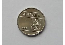 25 cent Aruba 1991 UNC/FDC