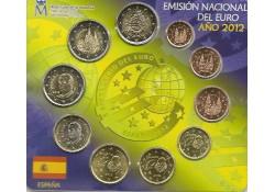 Bu set Spanje 2012 met 3x 2 euromunt