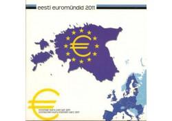 Estland 2011 Bu set Privé uitgifte