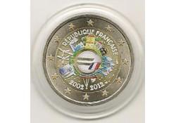 2 Euro Frankrijk 2012 10 Jaar Euro Gekleurd 146/2