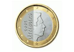 1 Euro Luxemburg 2012 UNC