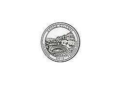 KM ??? U.S.A ¼ Dollar 2012 P Chaco Culture UNC