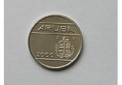25 cent Aruba 2000 UNC/FDC