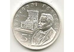 San Marino 2012 5 Euro Giovanni Pascali