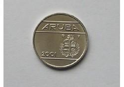 25 cent Aruba 2001 UNC/FDC