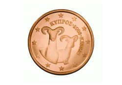 5 Cent Cyprus 2011 UNC