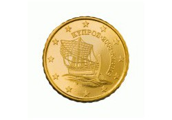 10 Cent Cyprus 2011 UNC