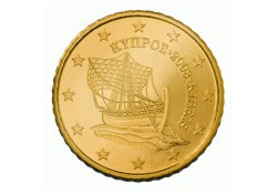 50 Cent Cyprus 2010 UNC
