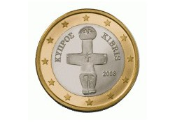 1 Euro Cyprus 2011 UNC
