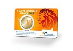 Nederland 2012 10 Cent Geluksdubbeltje